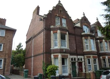 Thumbnail 2 bed flat to rent in Queens Crescent, Exeter