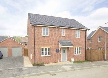 Thumbnail 4 bed detached house for sale in Harvest Close, Weldon, Corby