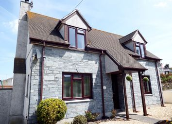 Thumbnail 3 bed detached house for sale in Liskey Hill, Perranporth