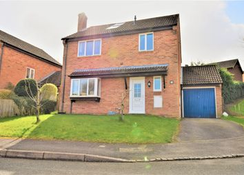 Thumbnail 4 bed detached house for sale in Yew Close, Kingsclere, Newbury