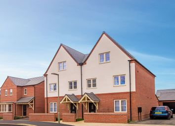 "Thumbnail 4 bed semi-detached house for sale in ""The Hanwell"" at Bretch Hill, Banbury"