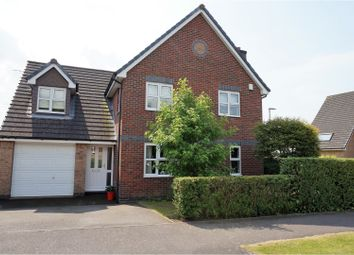 Thumbnail 4 bedroom detached house for sale in Taverner Drive, Ratby