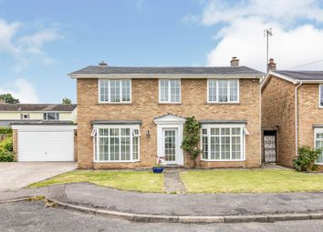 Thumbnail 4 bed detached house for sale in Farm Rise, Whittlesford, Cambridge
