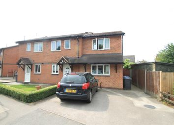 Thumbnail 4 bed semi-detached house for sale in Kinross Way, Hinckley