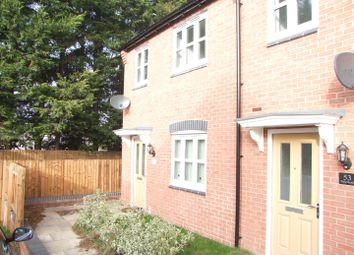 Thumbnail 3 bed town house for sale in Perle Road, Burton-On-Trent