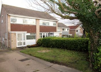 Thumbnail 3 bed semi-detached house for sale in Wembley Gardens, Bramcote, Nottingham
