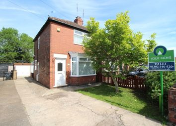 Thumbnail 2 bed property to rent in Crompton Avenue, Sprotbrough, Doncaster