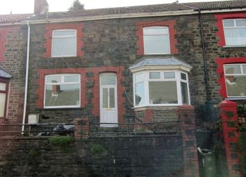 Thumbnail 3 bed terraced house to rent in Pentwyn Avenue, Mountain Ash