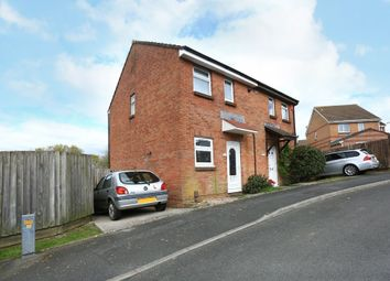 Thumbnail 2 bedroom semi-detached house for sale in Kitter Drive, Plymstock, Plymouth