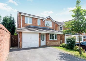 Thumbnail 3 bed detached house for sale in Strauss Drive, Heath Hayes, Cannock