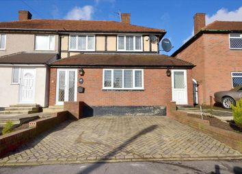 Thumbnail 3 bed semi-detached house for sale in Brocket Way, Chigwell, Essex