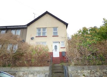 Thumbnail 4 bed end terrace house for sale in Gardd Denman, Bangor, Gwynedd