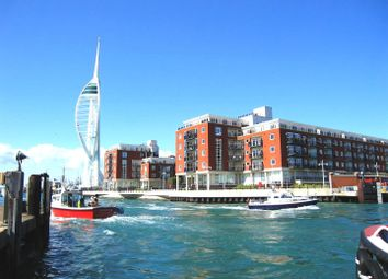 Thumbnail 2 bedroom flat for sale in Gunwharf Quays, Portsmouth