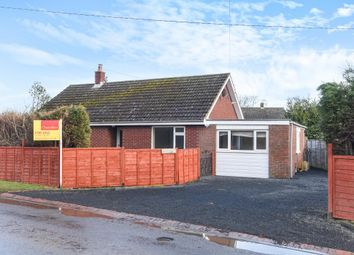 Thumbnail 3 bed detached bungalow for sale in Bucknell, Shropshire