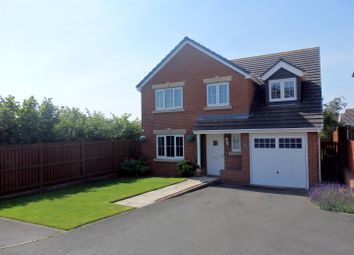 Thumbnail 5 bed detached house for sale in Beckwith Close, Kirk Merrington, Spennymoor
