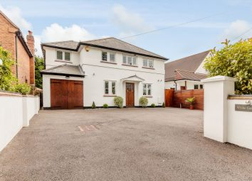 Thumbnail 4 bed detached house for sale in Sandy Lane, Send, Woking