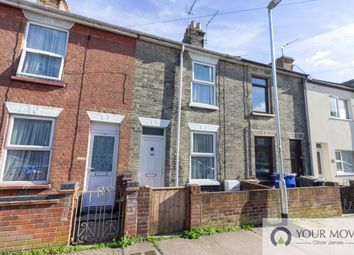 Thumbnail 2 bed terraced house for sale in Raglan Street, Lowestoft