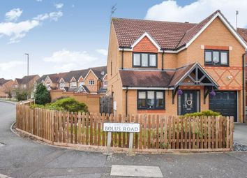 Thumbnail 4 bedroom detached house for sale in Bolus Road, Leicester, Leicestershire