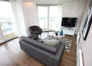 Thumbnail 2 bed flat to rent in Theheart, Mediacityuk, Salford Quays