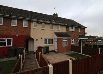 Thumbnail 3 bed terraced house for sale in Lister Close, Walsall, West Midlands
