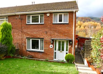 Thumbnail 3 bed semi-detached house for sale in Darren Las, Merthyr Vale