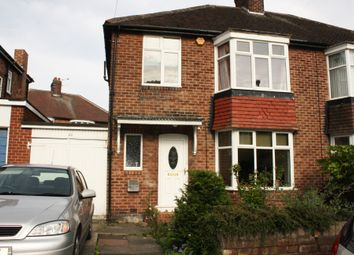 Thumbnail 3 bedroom semi-detached house to rent in Woodburn Avenue, Fenham, Newcastle Upon Tyne
