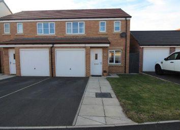 Thumbnail Semi-detached house for sale in Halton Grove, Blyth