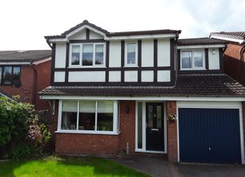 Thumbnail 4 bed detached house for sale in Rothesay Grove, Ketley Bank, Telford