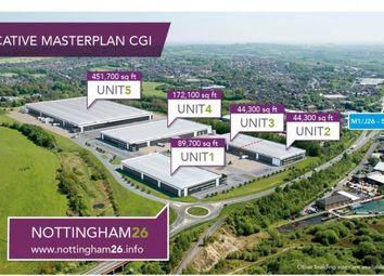 Thumbnail Light industrial to let in Nottingham 26, A610(T), J26, M1, Nottingham, Junction 26, A610(T), Eastwood