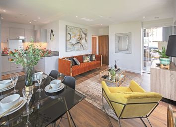 Thumbnail 1 bedroom flat for sale in Siskin Apartments, Nest, Dunedin Road, London