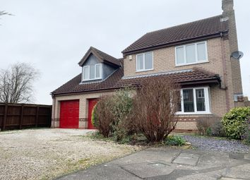 Thumbnail 4 bed detached house for sale in Bramble Close, Welton, Lincoln