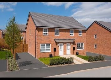 Thumbnail 3 bedroom semi-detached house for sale in Bowyer Way, Stobhill, Morpeth