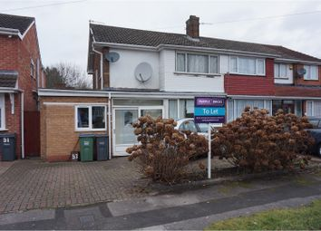 Thumbnail 3 bedroom semi-detached house to rent in Theodore Close, Oldbury