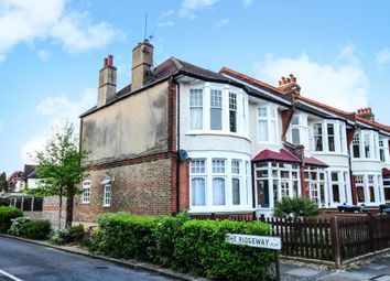 Thumbnail 3 bed flat to rent in Oakfield Road, Southgate