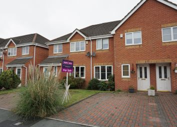 Thumbnail 3 bed town house for sale in Redcedar Park, Bolton