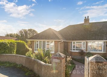 Thumbnail 2 bed semi-detached bungalow for sale in Homer Park, Hooe, Plymstock.