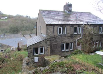 Thumbnail 2 bed terraced house for sale in 94 Fold End, Off Well Hill Road, Underbank, Holmfirth