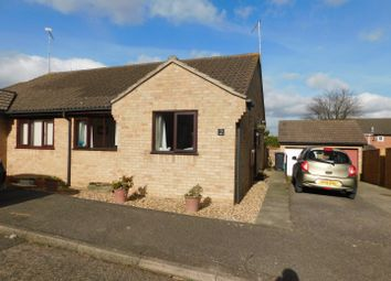 Thumbnail 2 bed semi-detached bungalow for sale in Shelley Close, Stowmarket