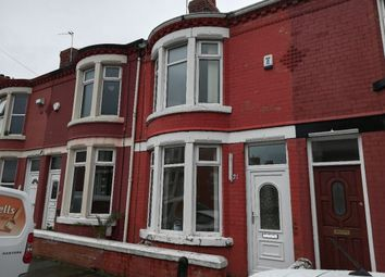 Thumbnail 2 bed terraced house to rent in Willowcroft Road, Wallasey