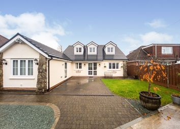 Thumbnail Detached bungalow for sale in Gellifedi Road, Brynna, Pontyclun
