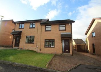 Thumbnail 3 bed semi-detached house for sale in Linacre Drive, Sandyhills, Glasgow