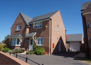 Thumbnail 4 bed detached house for sale in Windlass Drive, Wigston