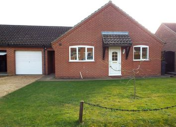 Thumbnail 2 bedroom detached bungalow to rent in Filby Road, Swaffham