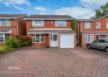 Thumbnail 4 bed detached house for sale in Southwark Close, Lichfield