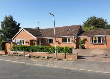Thumbnail 4 bed detached bungalow for sale in Moor End, Kelfield, York