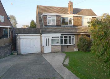 Thumbnail 3 bed semi-detached house for sale in Ridgeway Drive, Kirk Hallam, Derbyshire