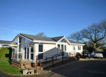 Thumbnail 2 bed mobile/park home for sale in Truro Heights, Kenwyn, Truro, Cornwall