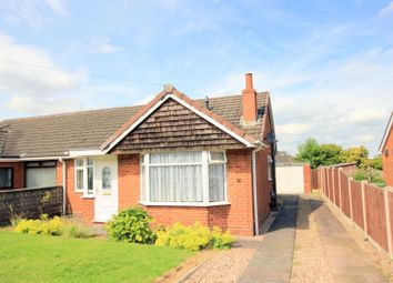 Thumbnail 2 bed semi-detached bungalow to rent in Hollies Drive, Meir Heath, Stoke-On-Trent