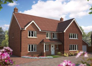 "Thumbnail 6 bed detached house for sale in ""The Exeter"" at Bridge Road, Bursledon, Southampton"