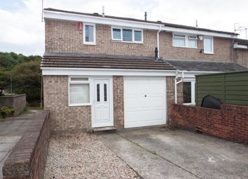 Thumbnail 3 bed end terrace house for sale in Langdale Close, Leigham, Plymouth